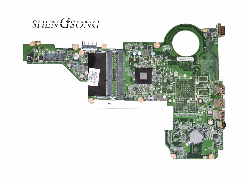 749968-001 Free Shipping FOR HP Pavilion 17-E 15-E Laptop Motherboard A6-5200M DA0R76MB6D0 749968-501 Motherboard 100% Tested цена