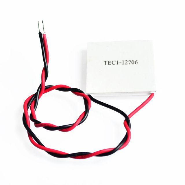 100% nuevo el precio más barato TEC1 12706 TEC 1 12706 de 57,2 W 15,2 V TEC refrigerador termoeléctrico Peltier (TEC1-12706)
