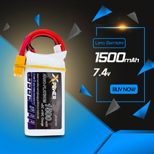 RC Drone Battery 7.4V Lipo 2S Battery 1500mAh 30C MAX 35C Xpower XT60/T Plug For Helicopter Quadcopter Drone Part Radio Control