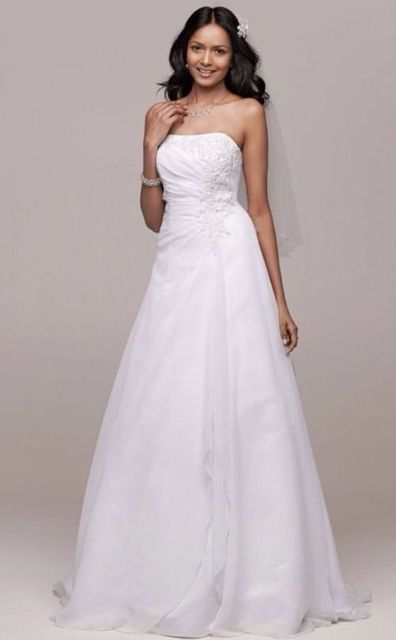 8adcd9cb4d US $149.99 |NEW David's Bridal Wedding Gown V9409 Size 8-in Wedding Dresses  from Weddings & Events on Aliexpress.com | Alibaba Group