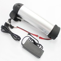 Ebike batterie 24V 17.4AH Lithium Ion Battery Down Tube Water Bottle Kettle Type For PA P29PF Cell Including BMS and 2A Charger