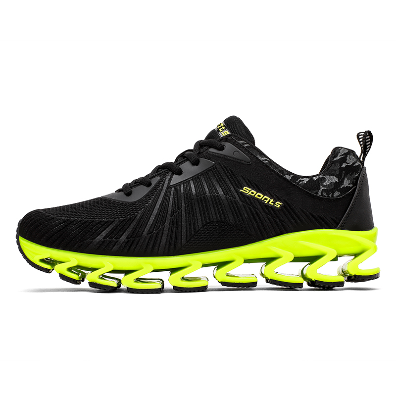 2018 Rushed Running Shoes Men Sneakers Lightweight Colorful Reflective Vamp For Outdoor Sports Jogging Walking Shoe For A001