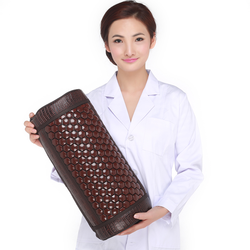 Ms tomalin germanium stone pillow cervical pillow jade health care pillow memory springback of maifan stone cotton health care p healthcare gynecological multifunction treat for cervical erosion private health women laser device