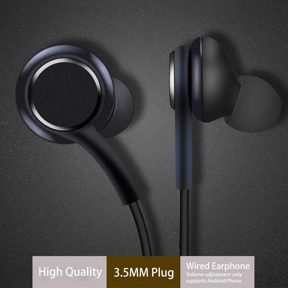 重低音イヤホン 3.5 ミリメートルプラグ有線音楽耳のヘッドセットとマイク Android 携帯用 PC Xiaomi サムスン華為