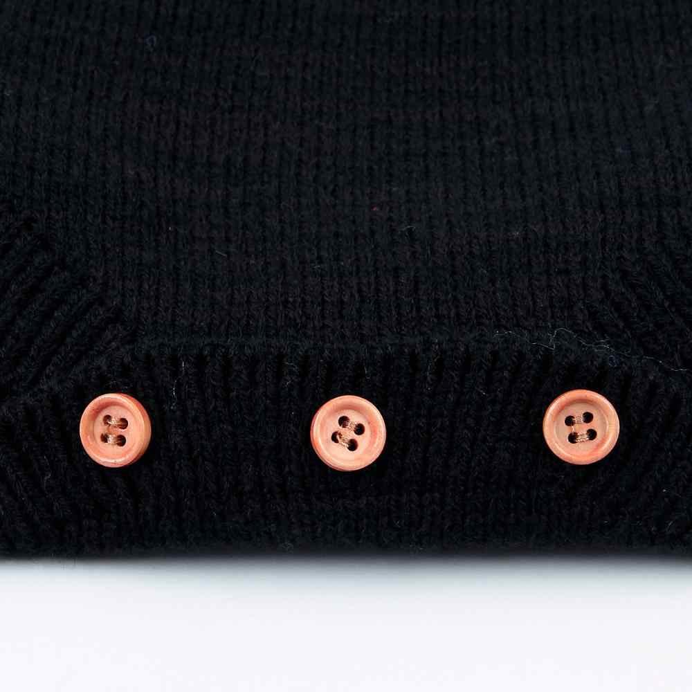 Вязаная одежда для маленьких девочек; модные черные боди с летящими рукавами для новорожденных; осенне-зимняя верхняя одежда для малышей; детские комбинезоны; топы