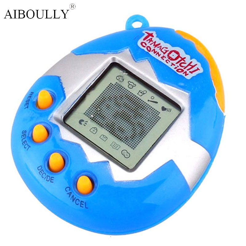 6 style 49 Virtual Cyber Digital Pets Electronic Tamagochi Pets Retro Game Funny Toys Handheld Game Machine Gift For Children