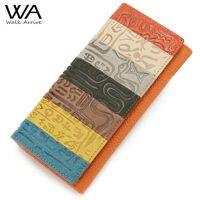 Walk Arrive Genuine Leather Women Wallet Embossed Leather Purse Brand Design Clutch Wallet Money Bag Fashion