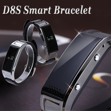 D8S Bluetooth Smart Armband Smartband Uhr Smartwatch Armbanduhr für Samsung HTC LG Huawei Android Phone Smartphones 2015 Neue