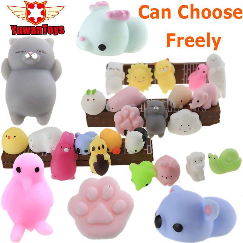 Squishy Ijs Soft Cat Wipes Giant Squishy Antistress Ball Squeeze Jumbo Slow Rising Mochi Squishy Balle Anti Stress Tooth Toys