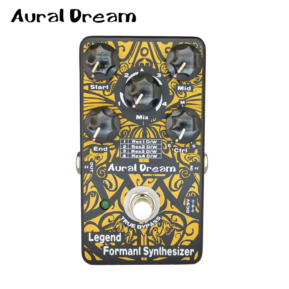 Aural Dream Legend Formant Synthesizer Guitar Effects Pedal 4 Modes Dry / Wet Control Feedback and True Bypass philips brl130 satinshave advanced wet and dry electric shaver