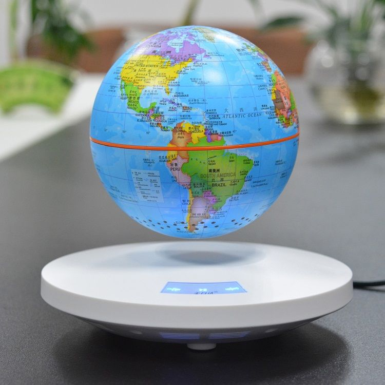 Portable Bluetooth Speaker Magnetic Levitation Globe