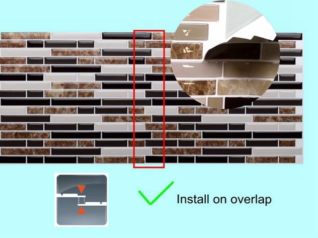Correct installation method