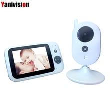 Wireless 3.5 inch Digital Video Baby Monitor Audio Music Infant Camera Temperature Sensor Intercom Nanny Monitor Portable VB303