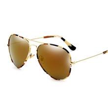Tide brand personality camouflage sunglasses star color bright reflective pilots sunglasses glasses 2017 New list glasses