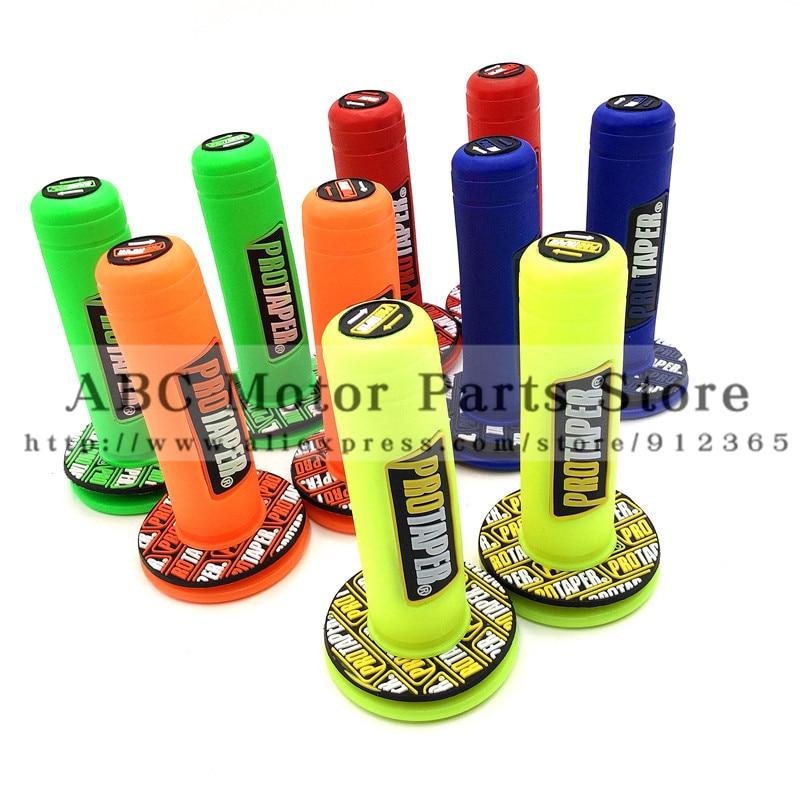 Handle Grip Pro taper Motorcycle Colorful Protaper Dirt Pit Bike Motocross 7/8