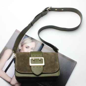 New  women Genuine Leather messenger Small cross body Retro Real Suede Single shoulder bags fashion handbag Travel Clutch