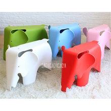 Louis Modern Fashion Creative Baby Kids Children Chair Photography Props Kindergarten Cartoon Plastic Chairs Baby Elephant Stool(China)