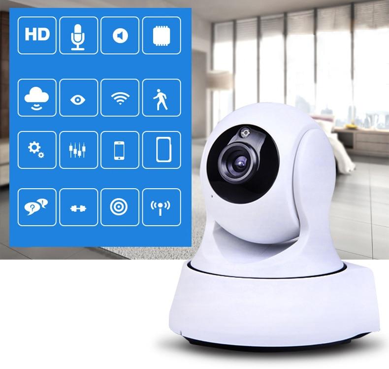 Home Security IR Cut Night Vision IP Camera Wireless Surveillance Wifi ...
