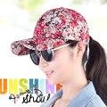Sombrero gorra de béisbol benn primavera y el otoño femeninos casquillo de hiphop moda de la calle al aire libre del sombrero de las mujeres