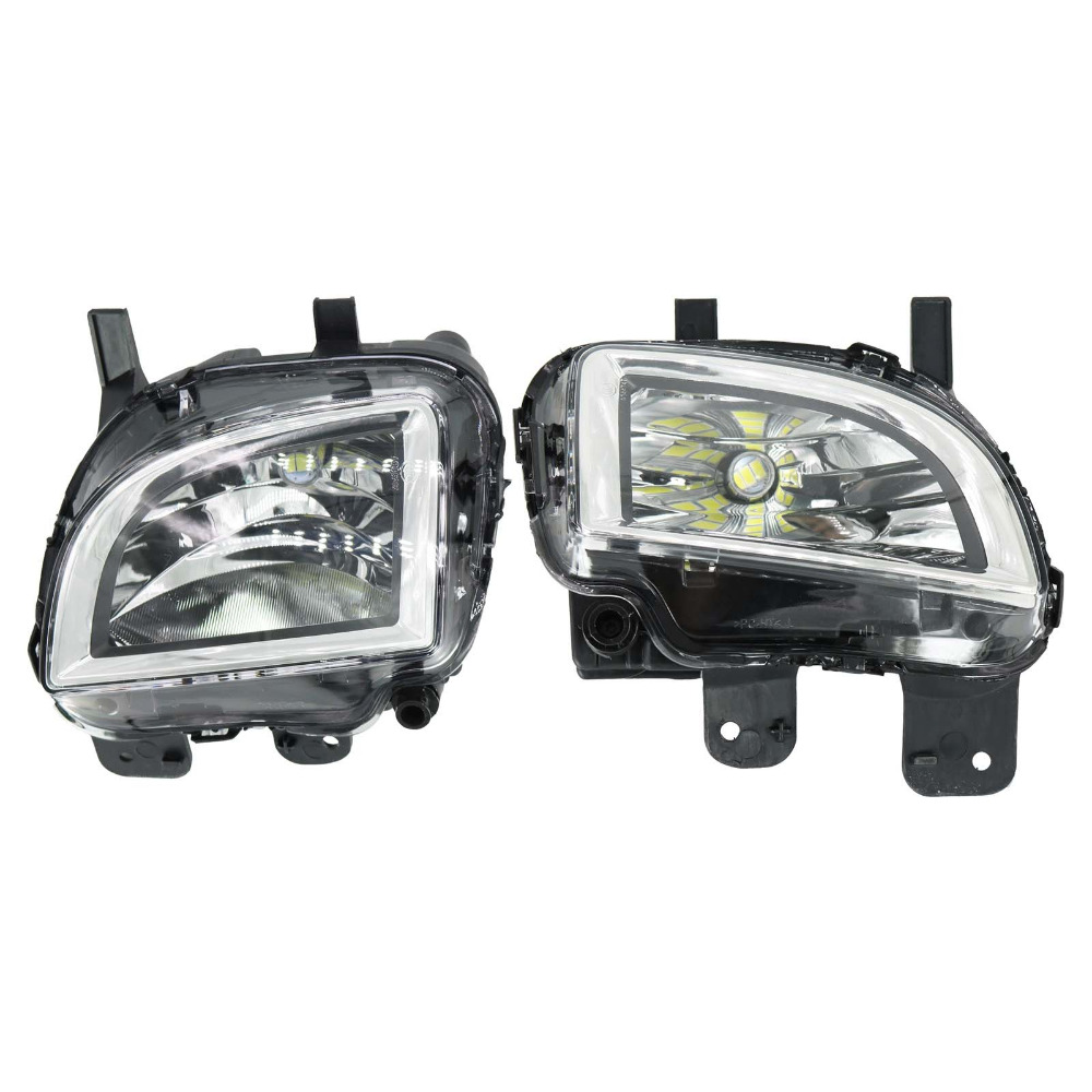 LED Light For VW Golf 6 MK6 GTI Jetta GLI 2011 2012 2013 2014 Front LED Light Fog Lamp Fog Light цена