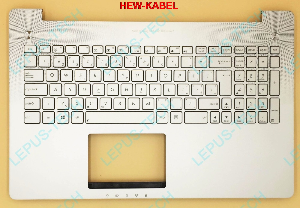 Tastiera per ASUS N550 N550JV N550JK con top case palmrest Repubblica layoutTastiera per ASUS N550 N550JV N550JK con top case palmrest Repubblica layout