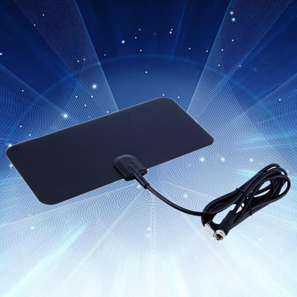hd flat antenna tv fox hdtv uhf vhf scout style cable 50 miles range ebay. Black Bedroom Furniture Sets. Home Design Ideas