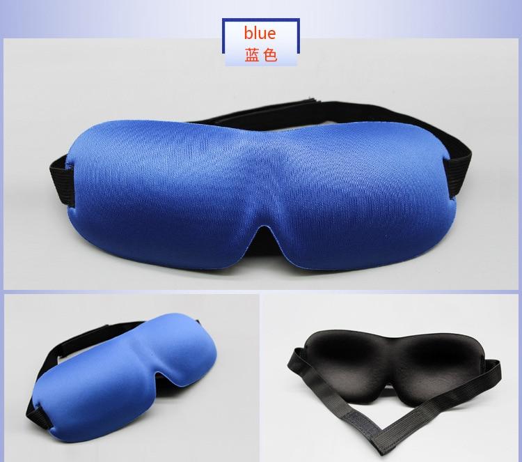 Image 5 - BYRIVER Sleeping Eye Mask, Travel Sleep Eye Shade Cover, 3D Memory Foam Nap Eye Patch Blindfolds Blinders, FREE Earplug-in Sleep & Snoring from Beauty & Health