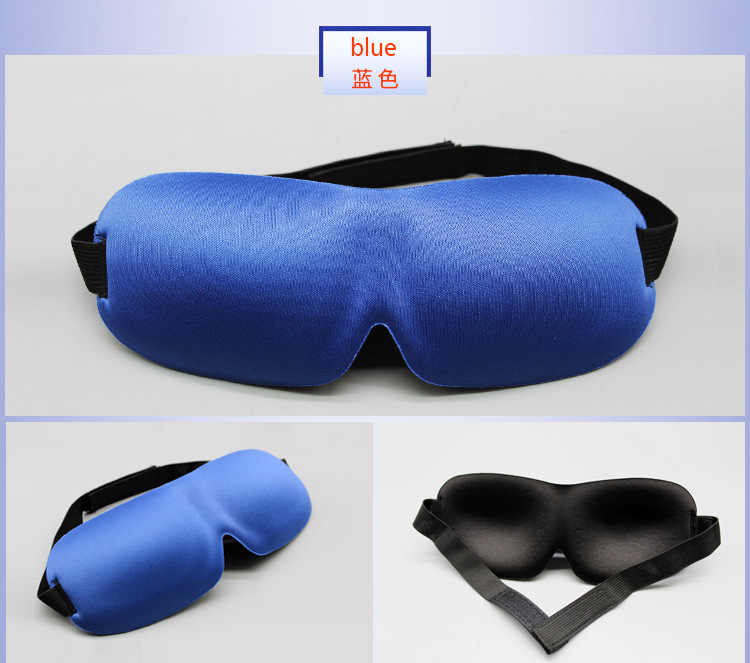 Byriver Tidur Mata Masker Mata Tidur Perjalanan Shade Cover 3D Busa Memori Tidur Penutup Mata Penutup Mata Penutup Mata, gratis Earplug