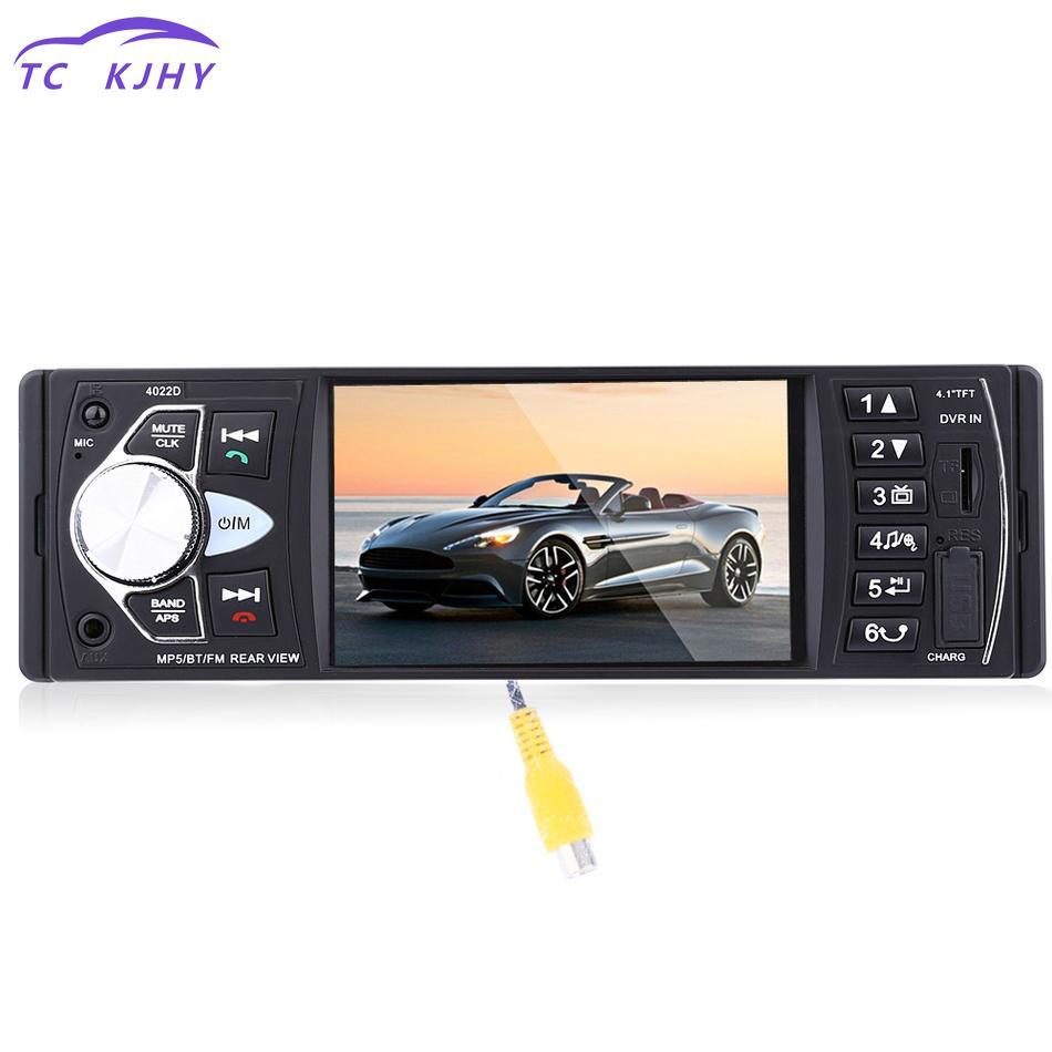 4.1 Inch Car Mp5 Player 12v Car Vedio Radio Tft Screen Bluetooth/rear View Camera/stereo Fm Radio/mp4/mp5/audio/video/usb/sd/tft 4 1 tft hd digital stereo fm radios mp3 mp4 audio video usb sd wheel control fm usb for iphone ipod