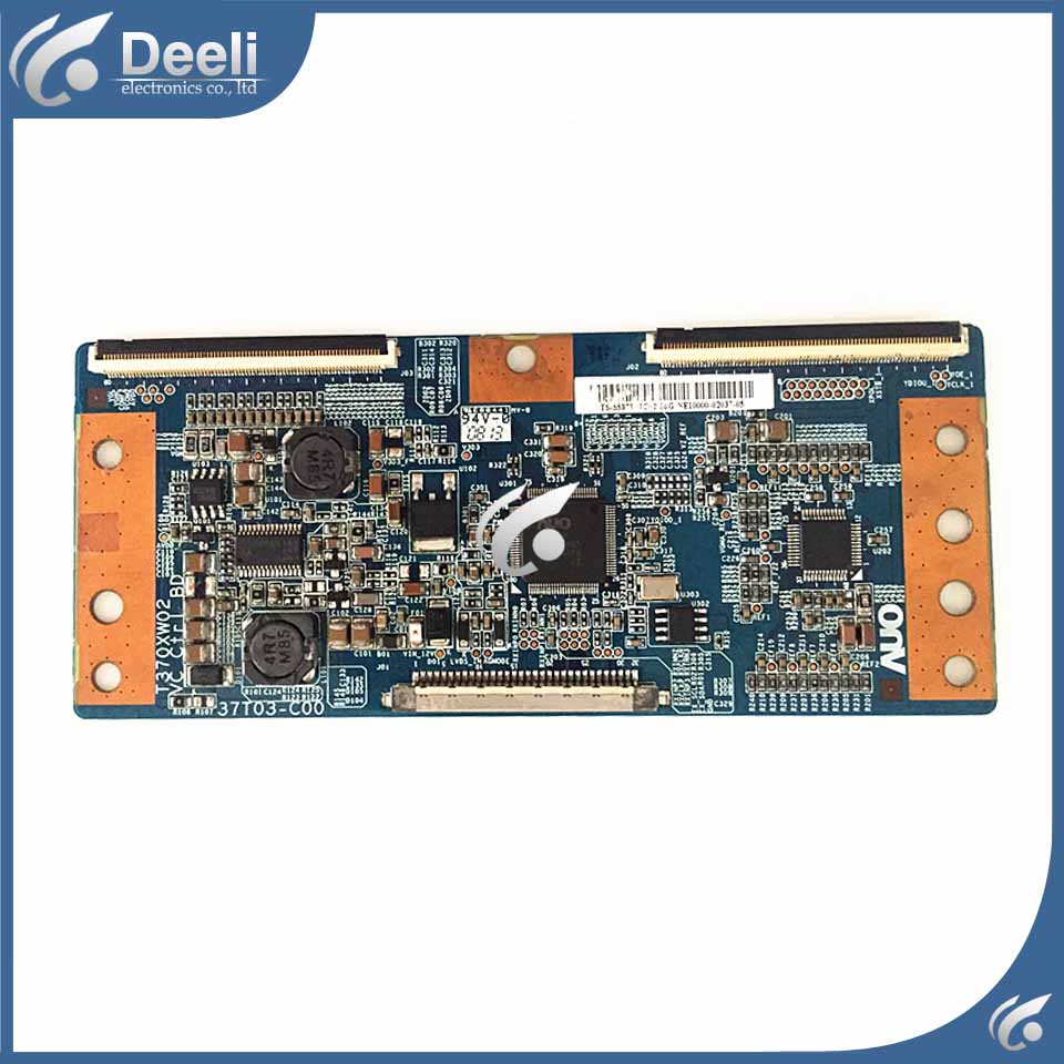 90% New original for AUO T-CON LOGIC BOARD T370XW02 VC CTRL BD 37T03-C00 WORKING GOOD 99% new good working high quality original for board t315hw04 vb ctrl bd 31t09 con t con logic board