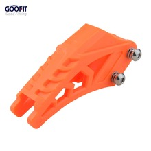 GOOFIT 420# 428# orange Chain Guide Guard Protector Fit CRF 250 R EXC YZF KXF KTMX for BSE Bosuer Dirt Bike Pit
