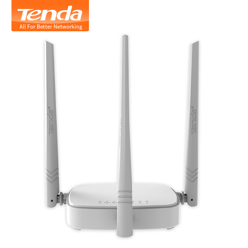 Tenda N318 300Mbps Wireless WiFi Router Wi-Fi Repeater,Multi Language Firmware,Router/WISP/Repeater/AP model,1WAN+3LAN RJ45 Port