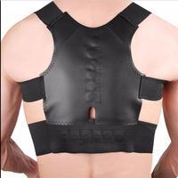 Black Posture Corrector Back Support Belt Shoulder Bandage Corset Back Orthopedic Brace Scoliosis Rugbrace Posture Corrector