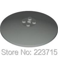 *Dish 8x8*10pcs DIY Enlighten Block Brick Part No.3961, Compatible With Other Assembles Particles