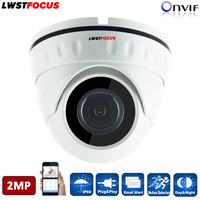Real Time 1080P IP Camera 2MP POE Optional P2P Onvif2 4 Indoor 2 8 3 6mm