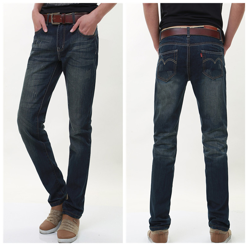 Men Jeans 2016 Hot Sale Mens Classic Causal Straight Jean Homme Denim True Jeans For Men Pantalones Vaqueros Hombre Marca 087 In Jeans From Men S Clothing Accessories