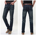 Men Jeans 2016 Hot Sale Mens Classic Causal Straight Jean Homme Denim True Jeans For Men Pantalones Vaqueros Hombre Marca 087