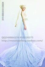 Сейлор мун принцесса луна white party dress хэллоуин косплей костюм выпускного вечера dress custom-made