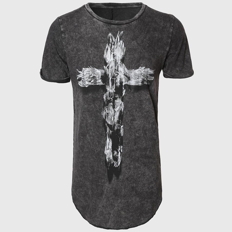 Online buy wholesale mens extra long t shirts from china for Extra long shirts for tall men