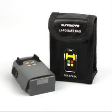 DJI Spark безопасности сумка Батарея защитный мешок, мешок для вещей-Тонкий Высококачественный защитный чехол для DJI аккумулятор Spark сумка для хранения аксессуары