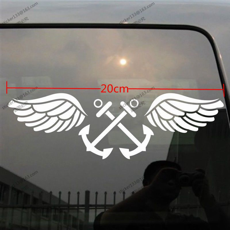 Car Window Stickers Military