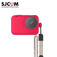 Oryginalny futerał silikonowy SJCAM + regulowana smycz ochronna do SJ9Series/SJ9 Strike/SJ9 Max kamera sportowa