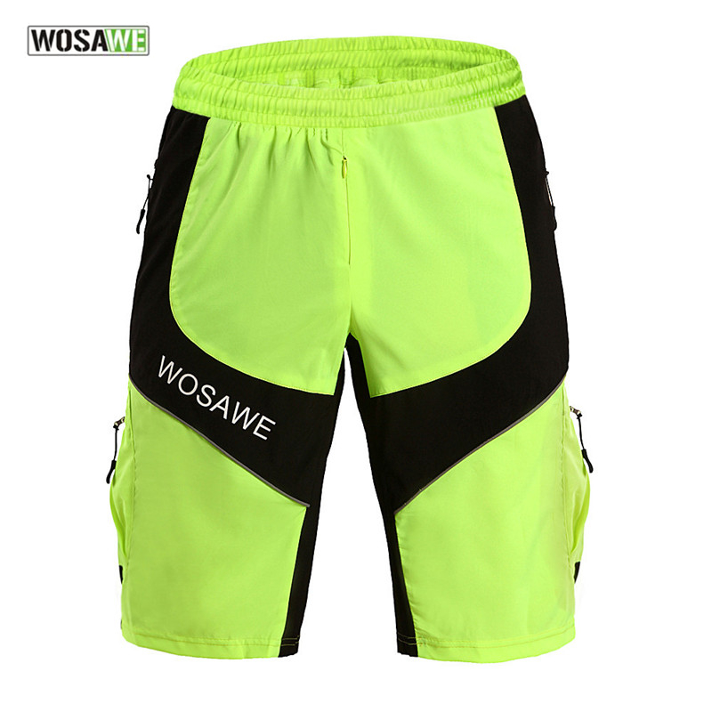 WOSAWE 2017 New Mutilfucntion Sports Shorts Cycling Shorts MTB Mountian Bike Shorts Bicycle Riding Keep Dry And Cool