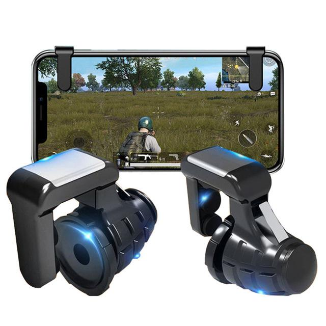 Pubg Mobile Gamepad Pubg Controller for Phone L1R1 Grip with Joystick / Trigger L1r1 Pubg Fire Buttons for iPhone Android IOS-in Gamepads from Consumer Electronics