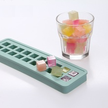 Excellent Silicone Ice Cube Tray Exquisite Ice Block Tubs Ice-Sucker Cool DIY Making Moulds Box Freezing Boxes Ice-Pop Molds 3pcs robot building block silicone ice cube tray molds