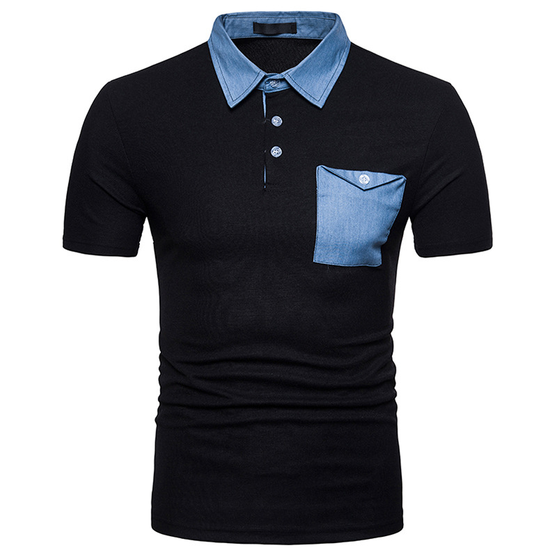 2018 Brand New Men's   Polo   Shirt Men Cotton Short Sleeve shirt Brands jerseys Mens Shirts   polo   shirts Plus Size S-XXL