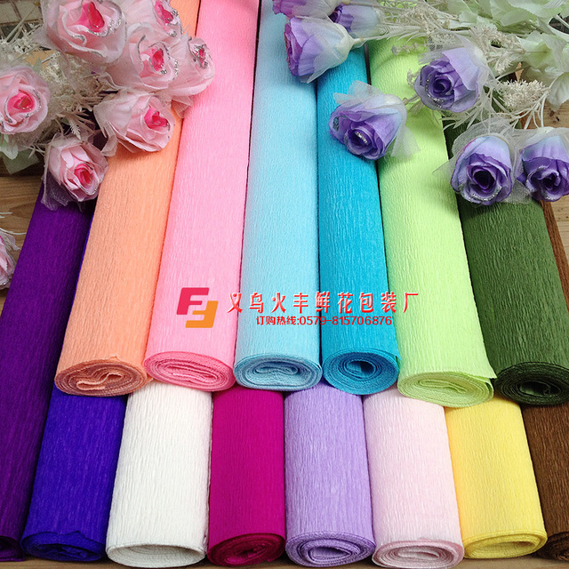 250x50cm 50 roll diy flower making crepe papers wrapping flowers 250x50cm 50 roll diy flower making crepe papers wrapping flowers packing material handmade diy wrapping paper mightylinksfo