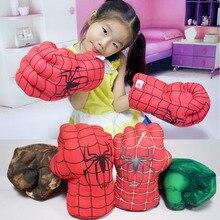 1only  Amusing Hulk Gloves Superhero Spiderman Children Halloween Christmas Kids Costume Toys A single glove