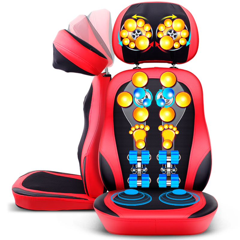 Cervical Massage Chair Mat Electric Device Neck Back Waist Massager Malaxation Shiatsu Massotherapy Body Massage Cushion