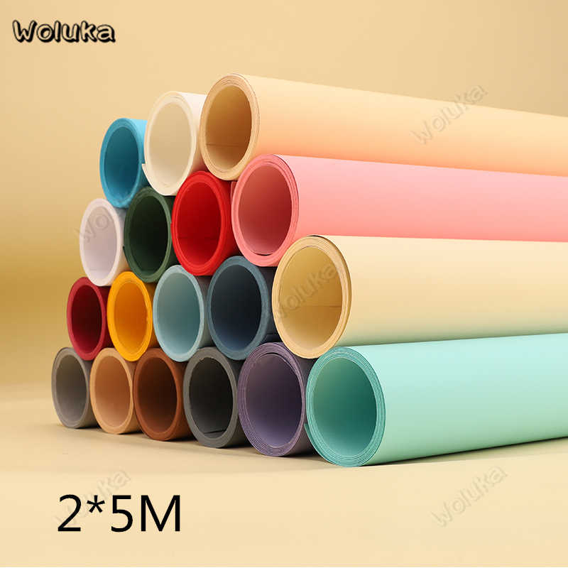 2MX5M Background paper solid color studio photographic equipment accessories backdrop high quality photo paper CD05 T10